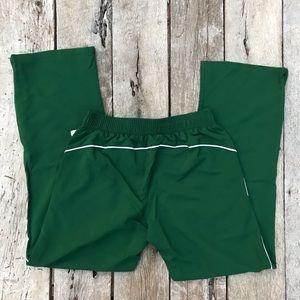 Brooks Pants - Brooks Dark Green Running Pants Ladies Med